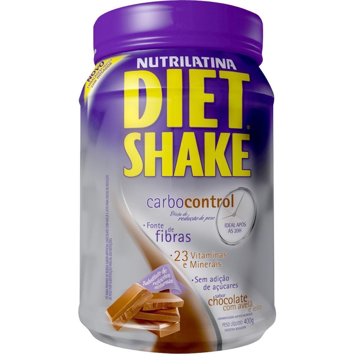 Diet Shake Carbo Control (400g) Nutrilatina