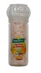 Sal Rosa do Himalaia Grosso - Embalagem com Moedor - 100g - Natural Life
