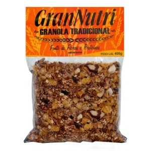 Granola Tradicional - 400g - Gran Nutri