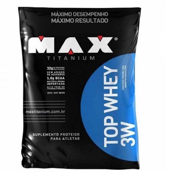 Top Whey 3W Refil (1800g) Max Titanium