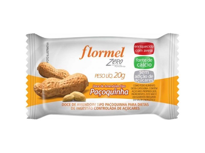 Paçoca Zero (20g) - Flormel