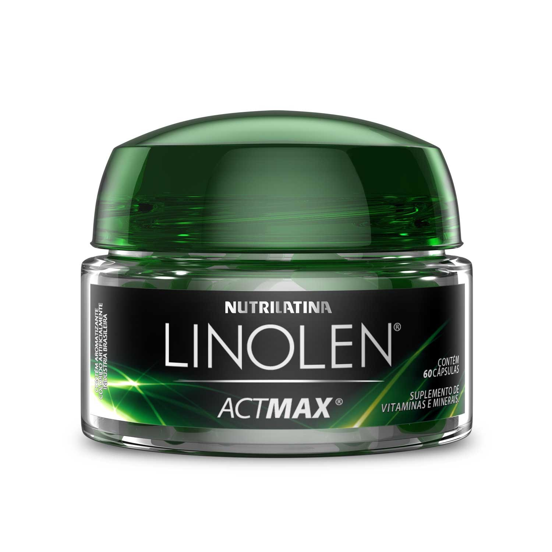 Linolen Actmax (60 Cáps) Nutrilatina