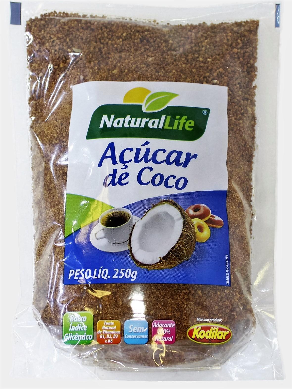 Açúcar de Coco - 250g - Natural Life