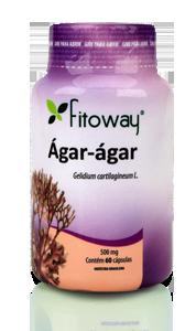 Ágar-ágar (60 Cáps) Fitoway