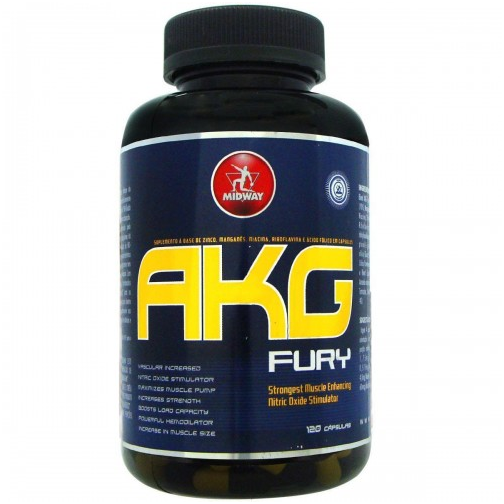 AKG FURY (120 Cáps) Midway