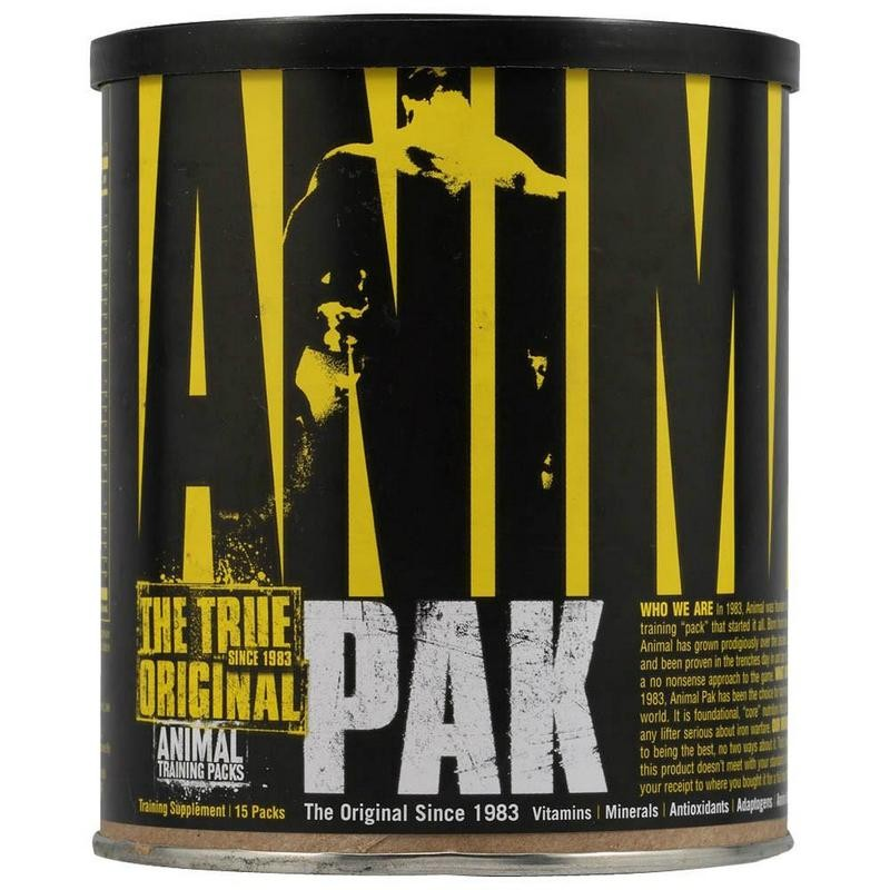 Animal Pak (15 Packs) - Universal