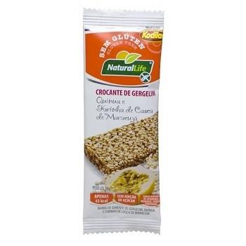 Barra Crocante de Gergelim Sem Glúten - 10g - Natural Life
