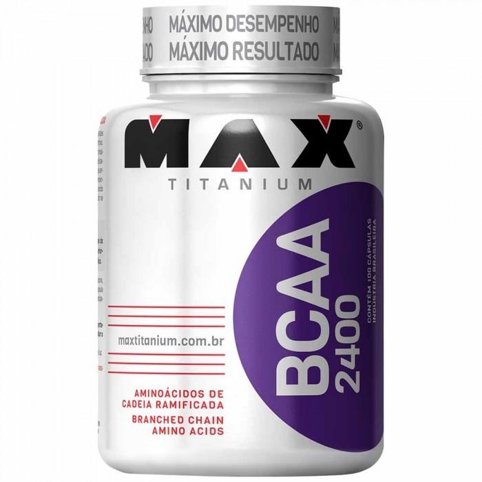 BCAA 2400 (100 Cáps) Max Titanium