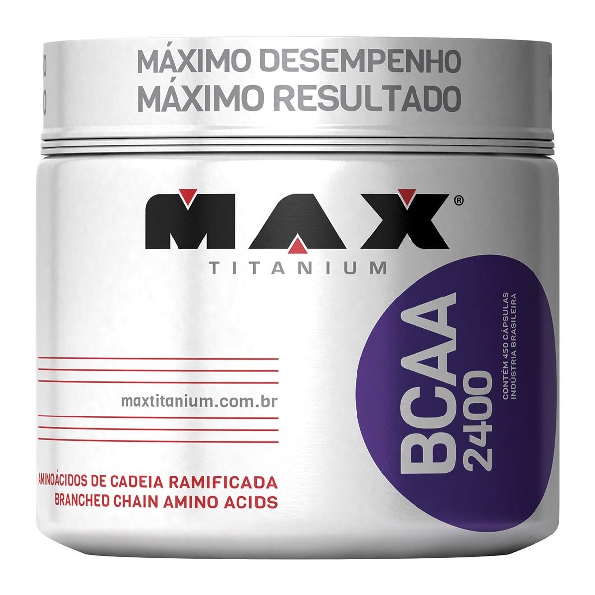 BCAA 2400 (450 Cáps) Max Titanium