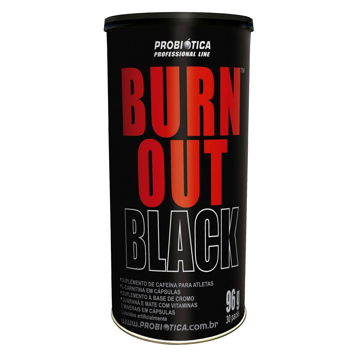 Burn Out Black 30 Packs Probiótica