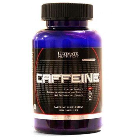 Caffeine (120 Cáps) Ultimate Nutrition