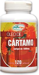 Óleo de Cártamo - 120 Cápsulas – NutraCaps