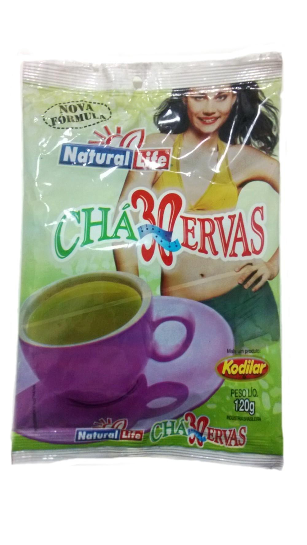 Chá 30 Ervas - 120g - Natural Life