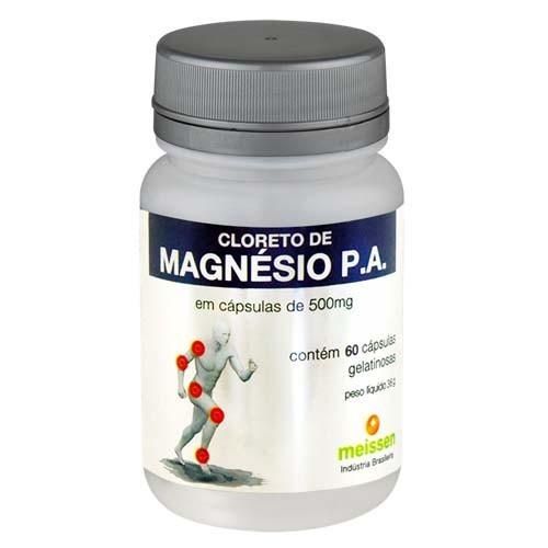 Cloreto de Magnésio - 60 Cáps - Meissen