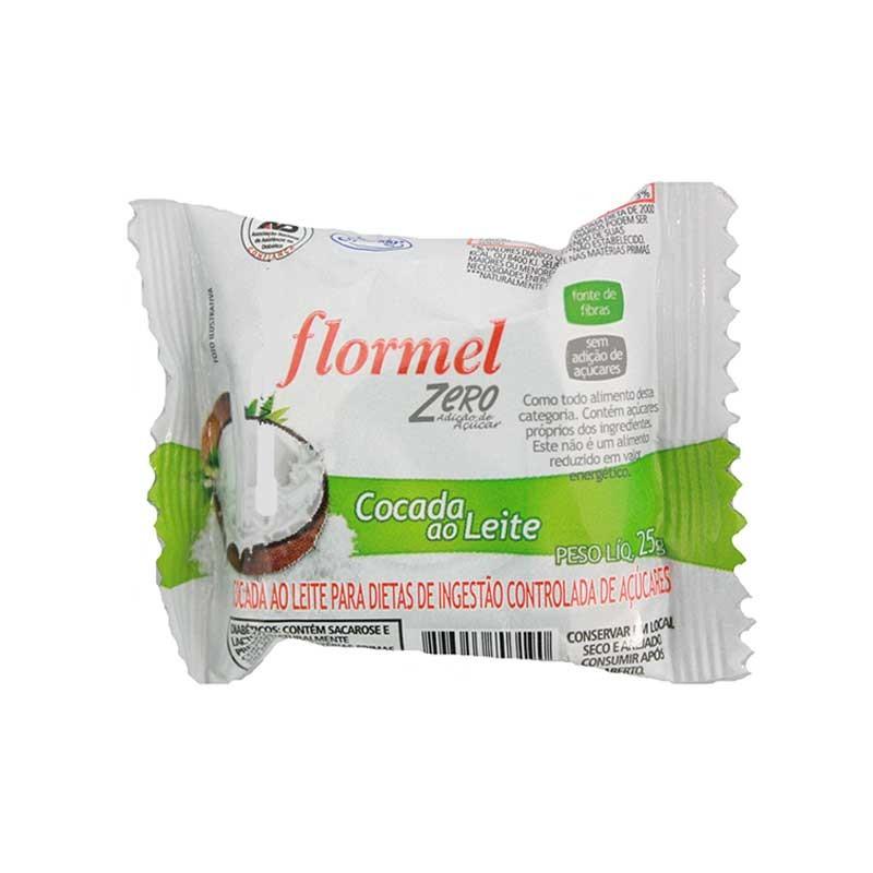 Doce de Cocada ao Leite Zero (25g) - Flormel