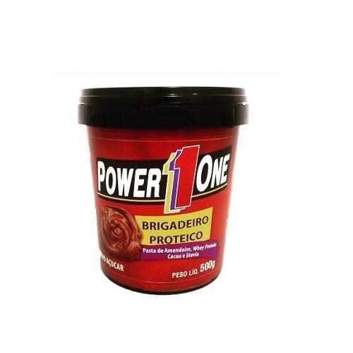 Pasta de Amendoim Brigadeiro Proteico (500g) Power One