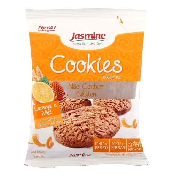 Cookies Integrais (Sabor Laranja e Mel 150g) Jasmine