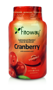 Cranberry 400mg (60 Cáps) Fitoway
