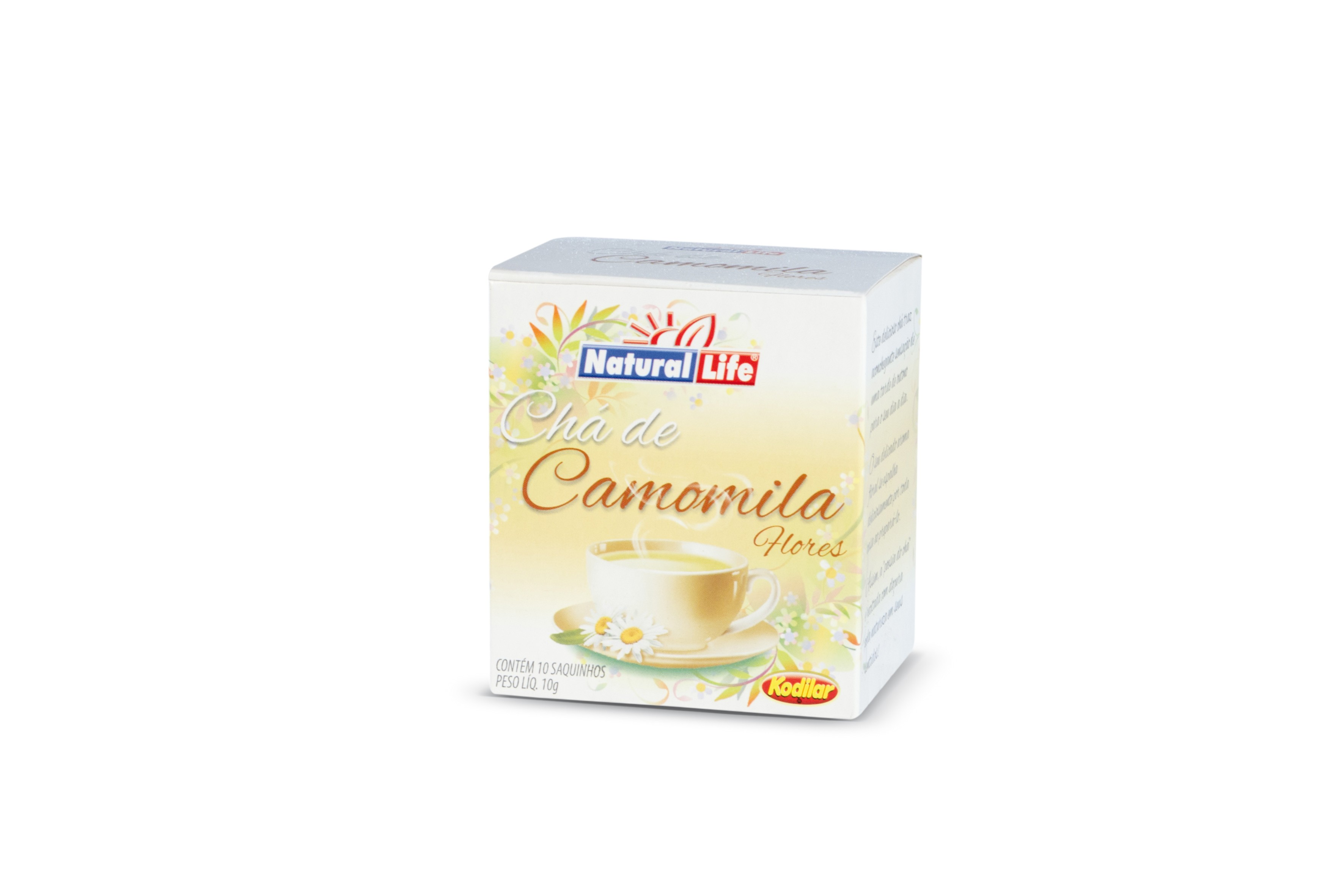 Chá de Camomila (10 Sachês) Natural Life
