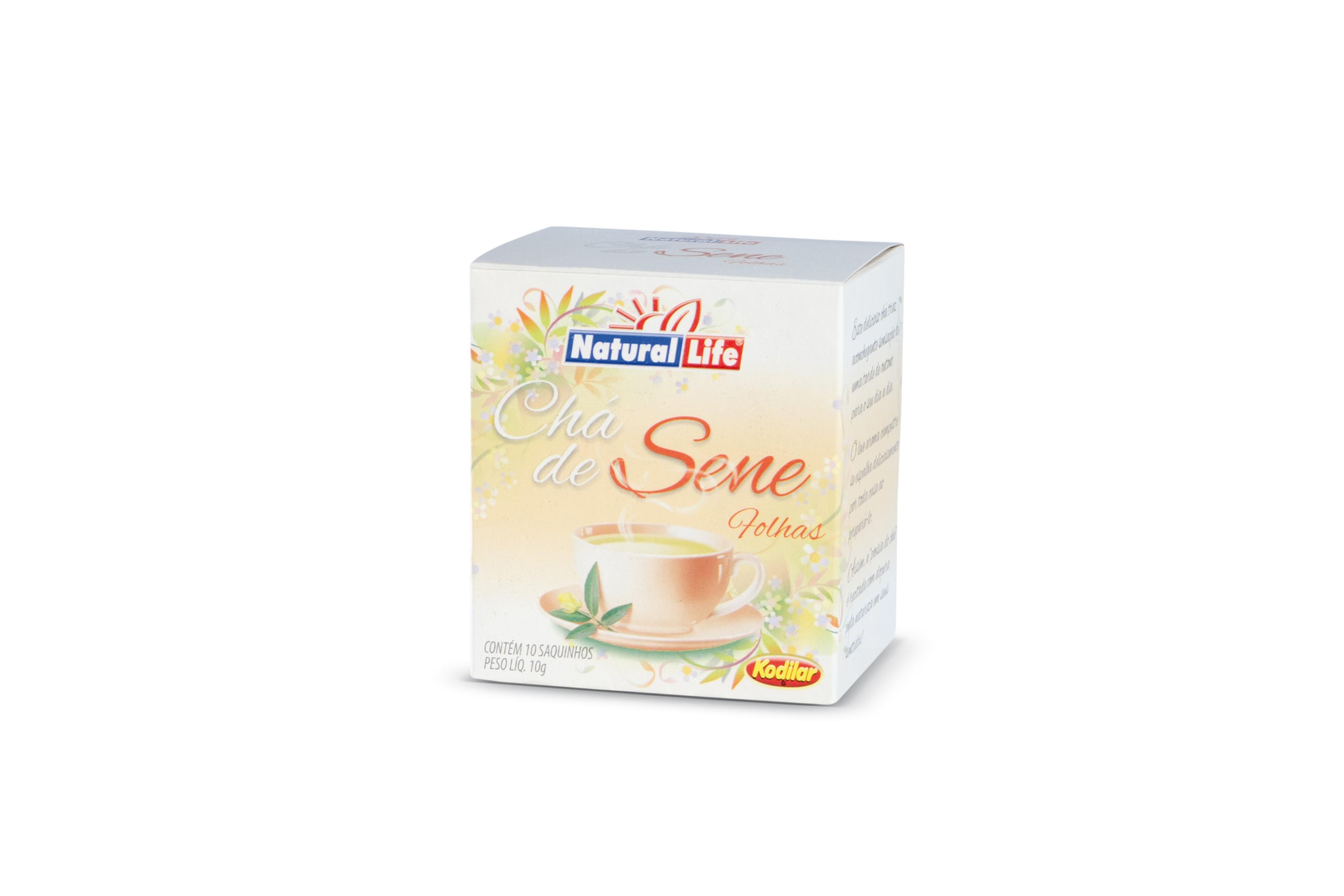 Chá de Sene Folhas (10 Sachês) Natural Life