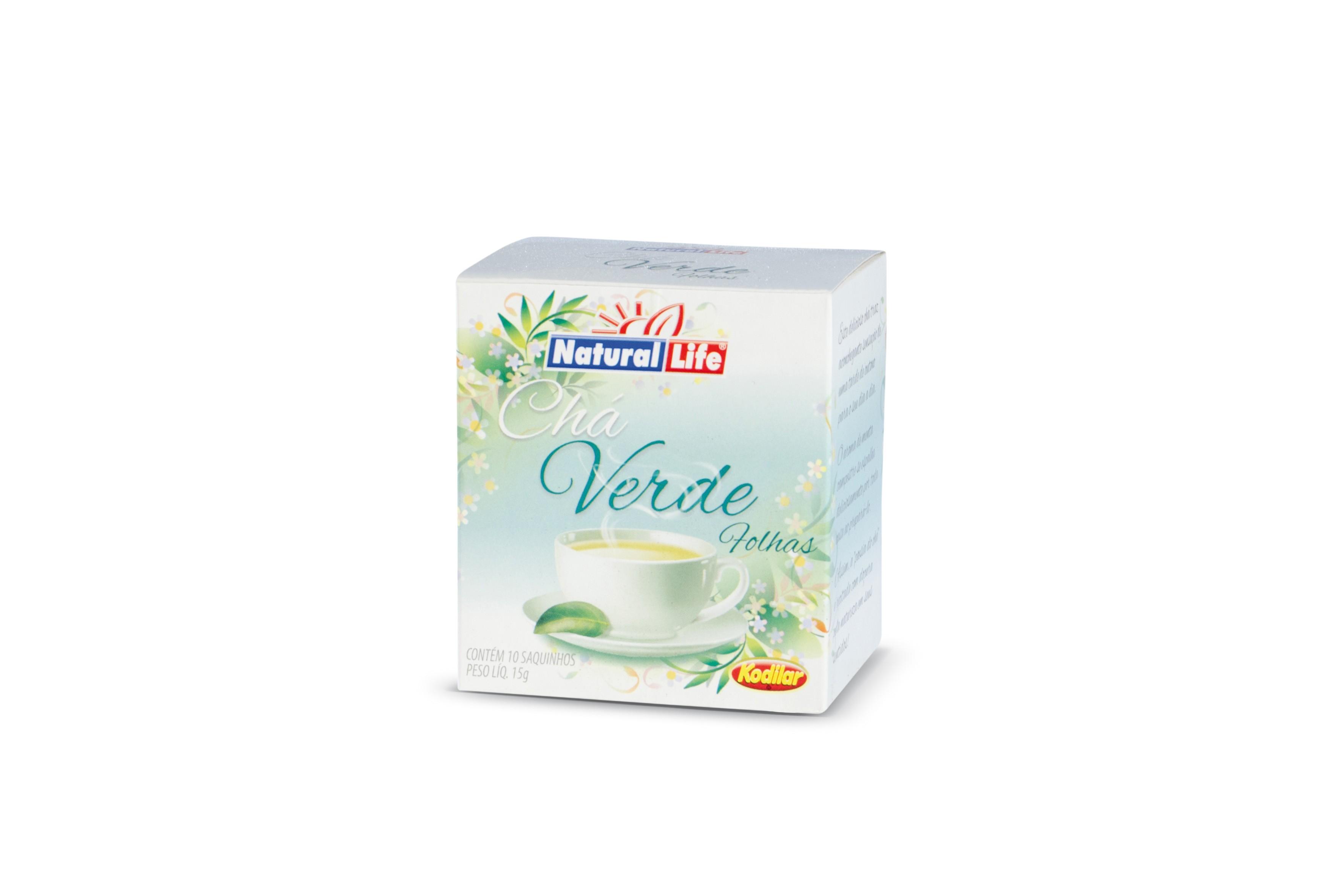Chá Verde Tradicional (10 Sachês) Natural Life