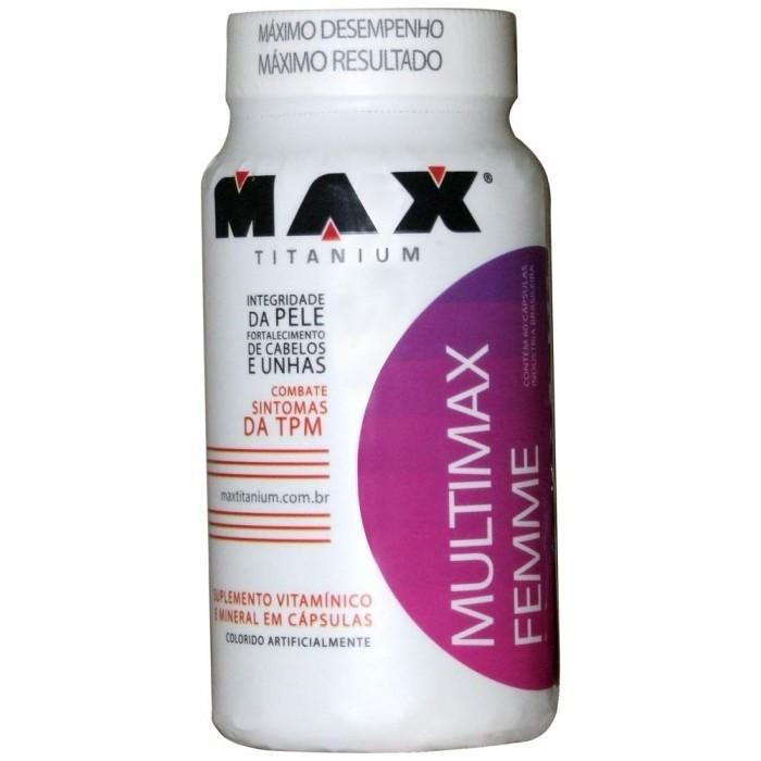 Multimax Femme (60 Cáps) Max Titanium