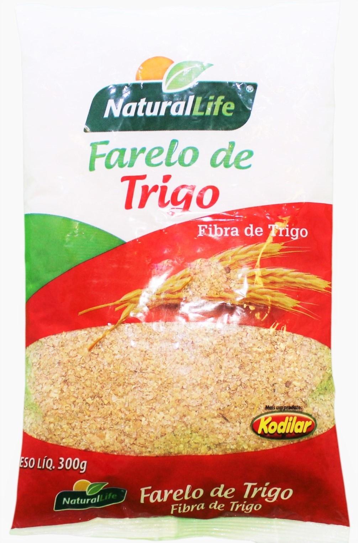 Farelo de Trigo Grosso - 300g - Natural Life