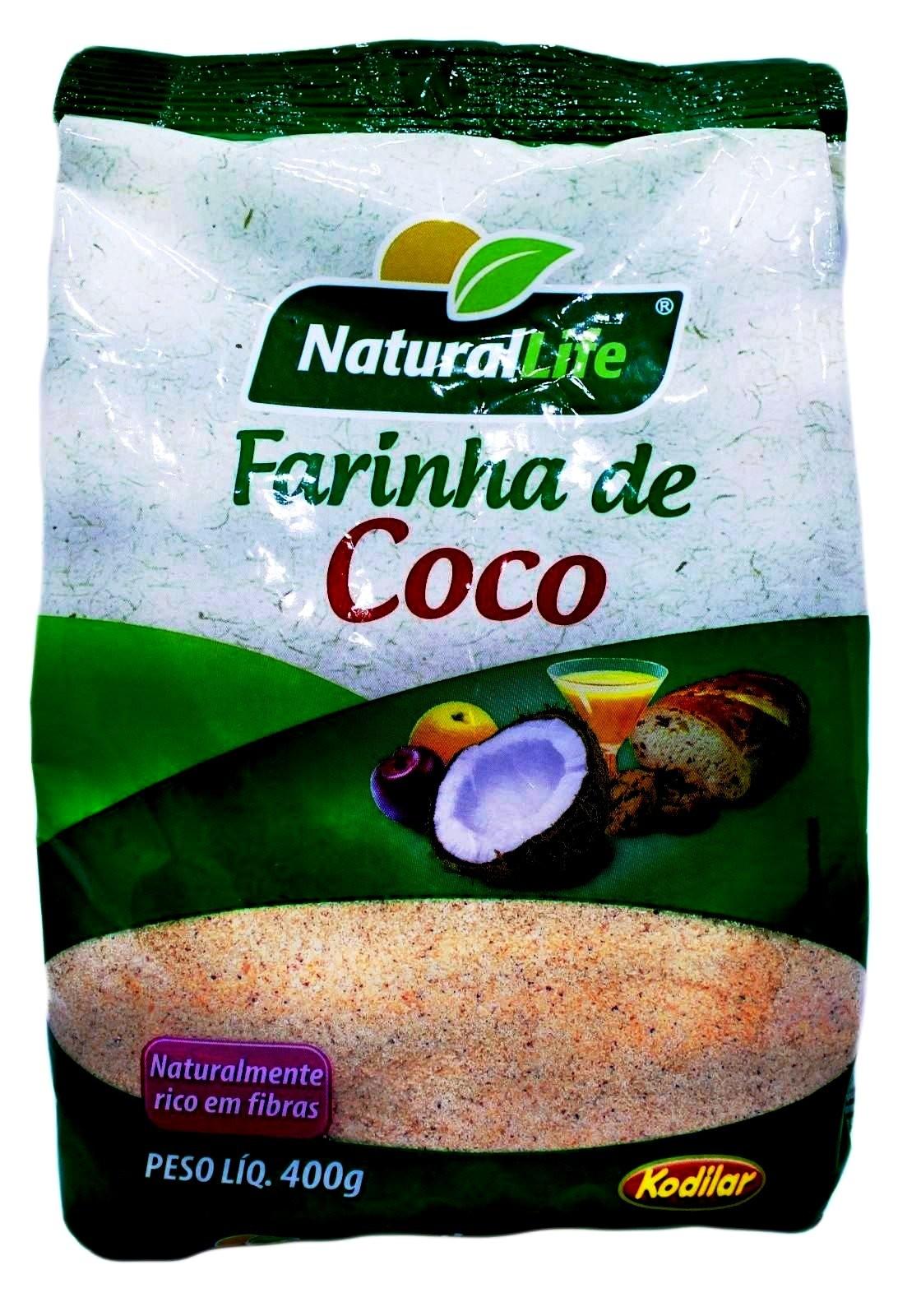 Farinha de Coco - 400g - Natural Life