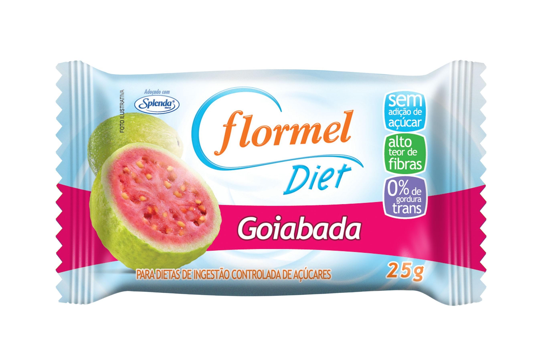 Goiabada Diet (25g) - Flormel