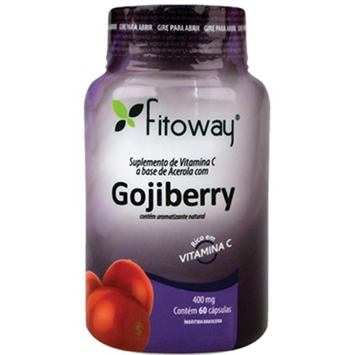 Goji Berry (60 Cáps) Fitoway