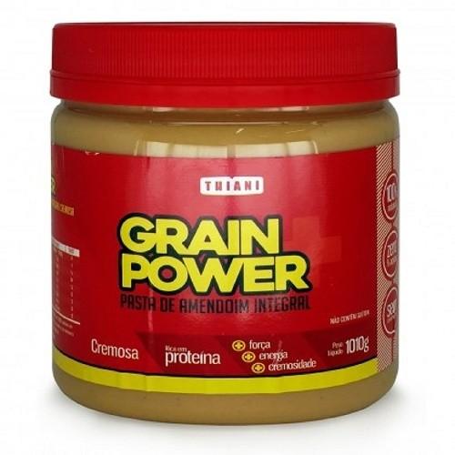 Pasta de Amendoim Integral Grain Power - 1010g - Thiani Alimentos