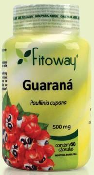 Guaraná 500mg (60 Cáps) Fitoway