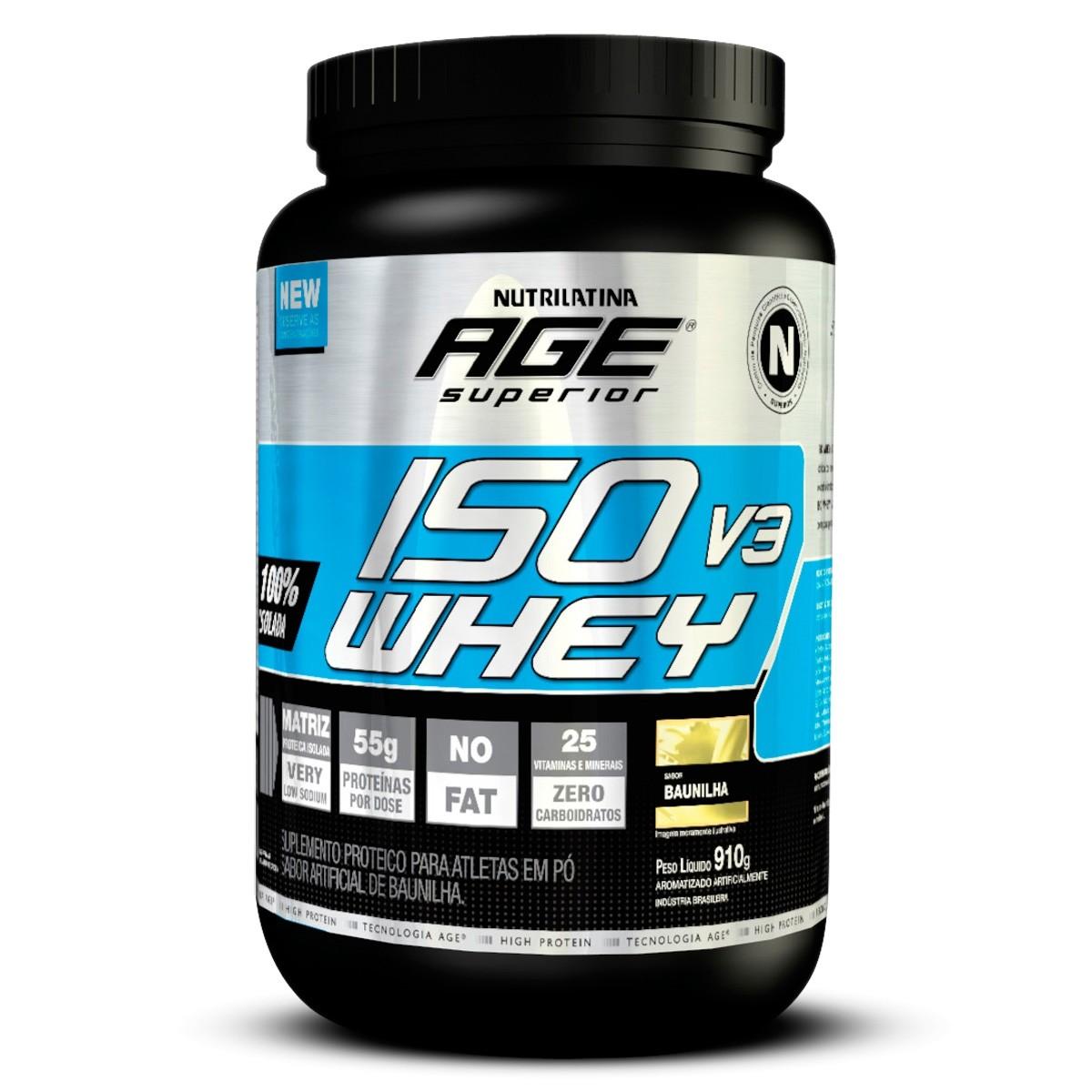 Iso V3 Whey (910g) Nutrilatina AGE