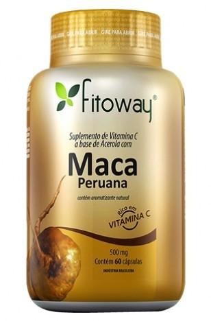 Maca Peruana + Acerola (60 Cáps) Fitoway