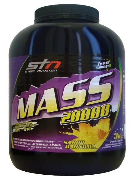 Mass 20000 (3kg) Steel Nutrition