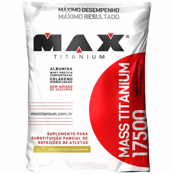 Mass Titanium 17500 Refil (3 Kg) Max Titanium