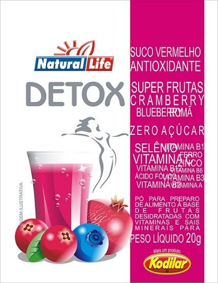 Suco Vermelho Antioxidante (20g) Natural Life