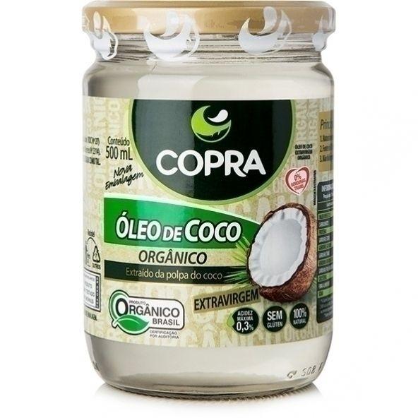 Óleo de Coco Extra Virgem Orgânico - 500ml - Copra