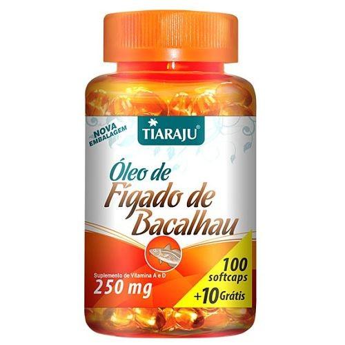 Óleo de Fígado de Bacalhau (100 + 10 Softcaps) Tiaraju