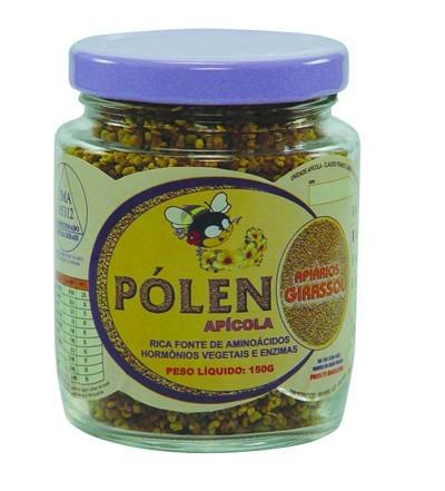 Pólen Apícola - 150g - Apiários Girassol