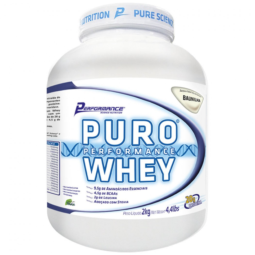 Puro Performance Whey - 2kg - Performance Nutrition