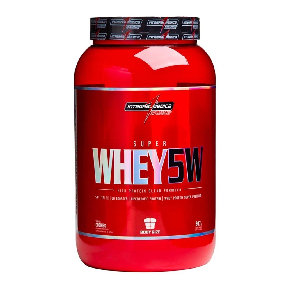 Super Whey 5W (907g) Body Size Integralmédica