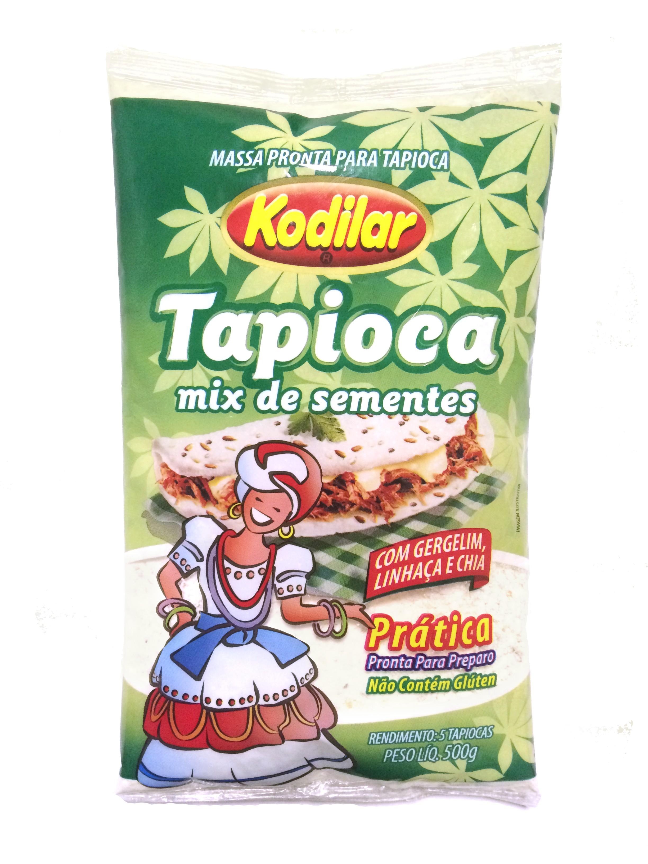 Tapioca Mix de Sementes (500g) - Kodilar