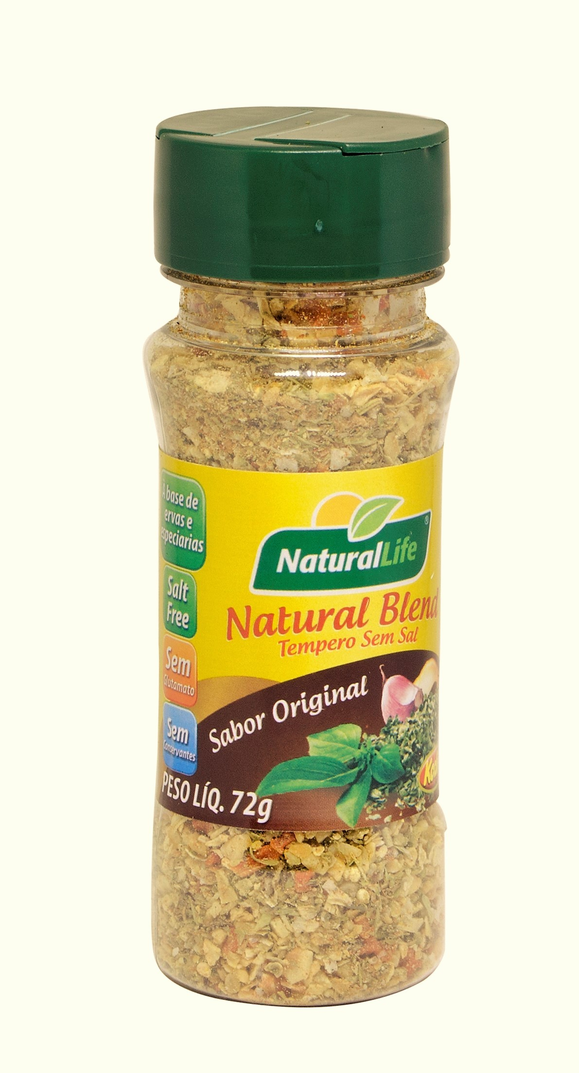 Natural Blend Tempero Sem Sal - Frasco - 70g - Natural Life