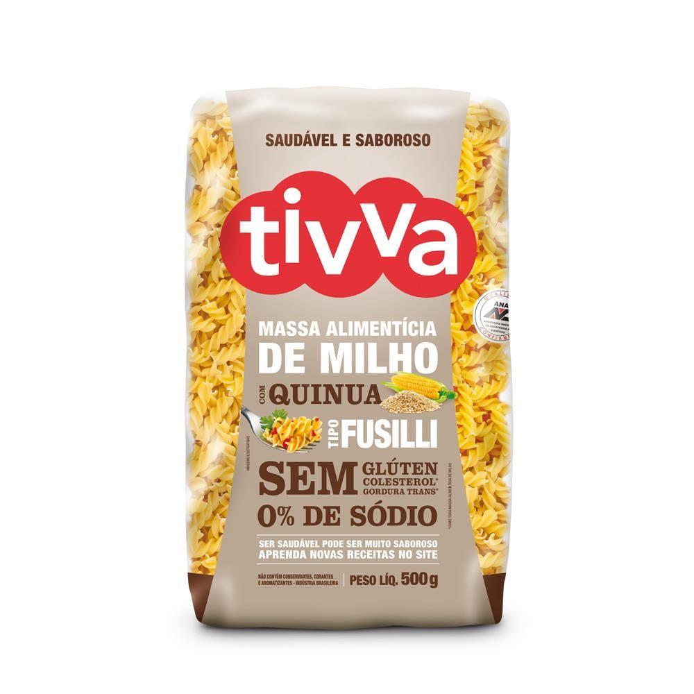 Massa Alimentícia de Milho com Quinua Tipo Fusilli (500g) Tivva