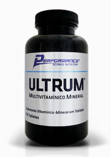 Ultrum Multivitamínico Mineral (100 Tabs) Performance Nutrition