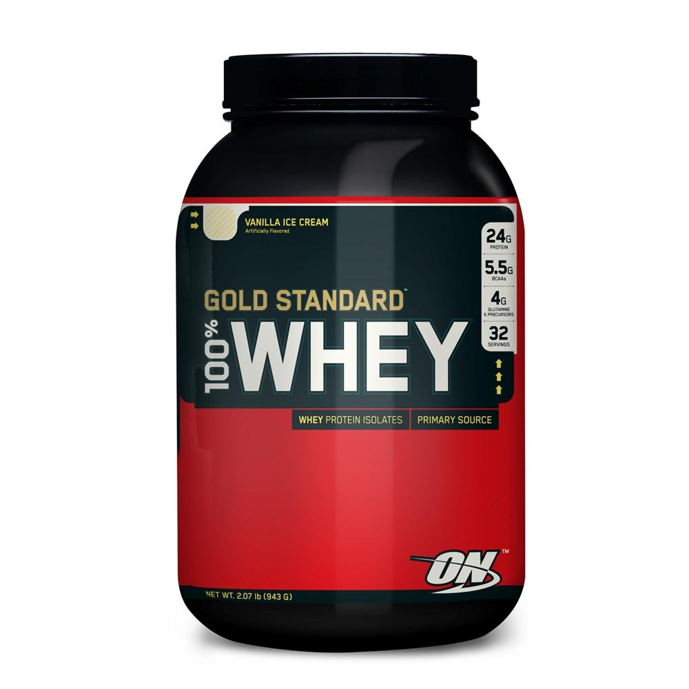100% Whey Protein Gold Standard (909g) - Optimum Nutrition